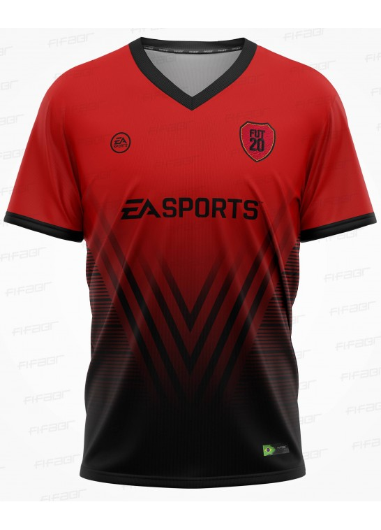 Camisa Ultimate Team Fut 20 Red Storm