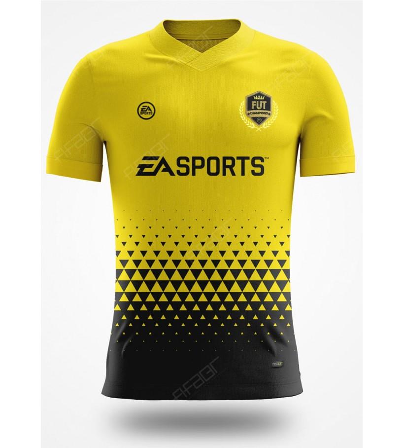Camisa Fut Champions Gold Edition Amarela e Preta