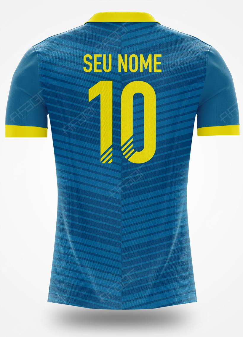Camisa Ultimate Team TOTW Edition Detalhe em Amarelo