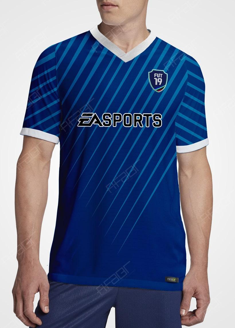 Camisa Ultimate Team TOTS Edition Azul Escuro