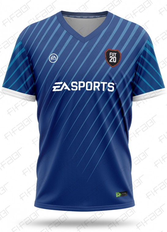 Camisa Ultimate Team TOTS Edition Azul Escuro