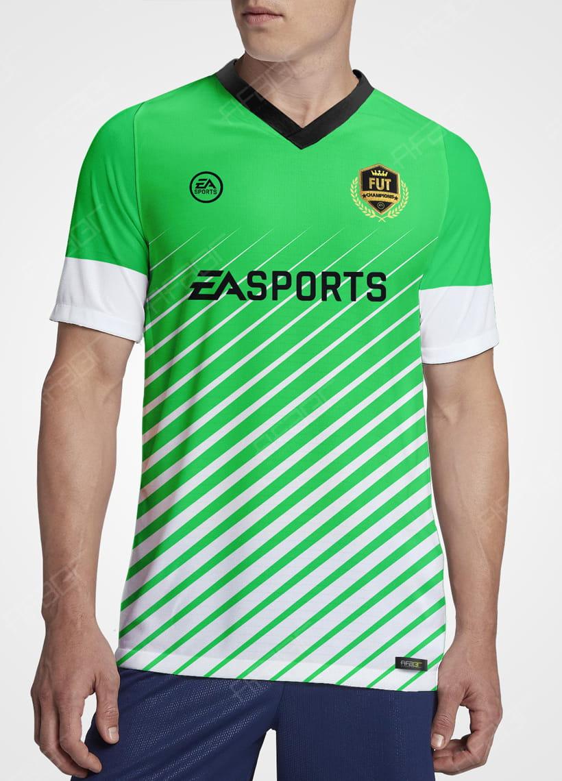 Camisa Fut Champions Elite Edition Verde e Branca
