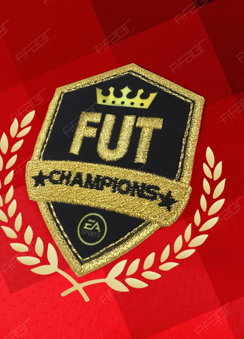 Camisa Fut Champions Ultimate Elite Edition Vermelha Degradê