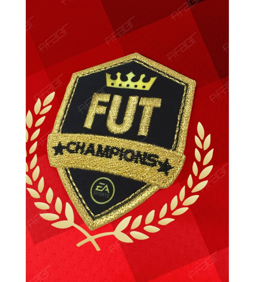 Camisa Fut Champions Ultimate Elite Edition Vermelha Degradê