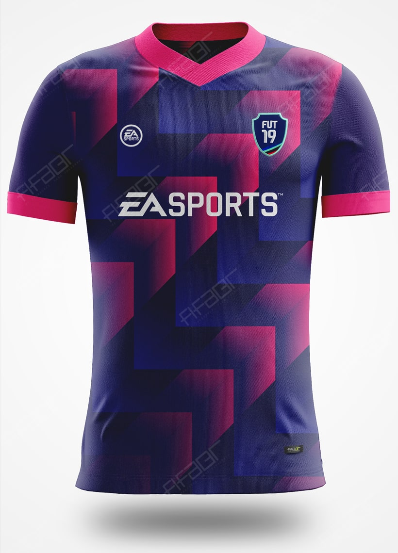 Camisa Ultimate Team Dev Edition Azul Marinho e Rosa