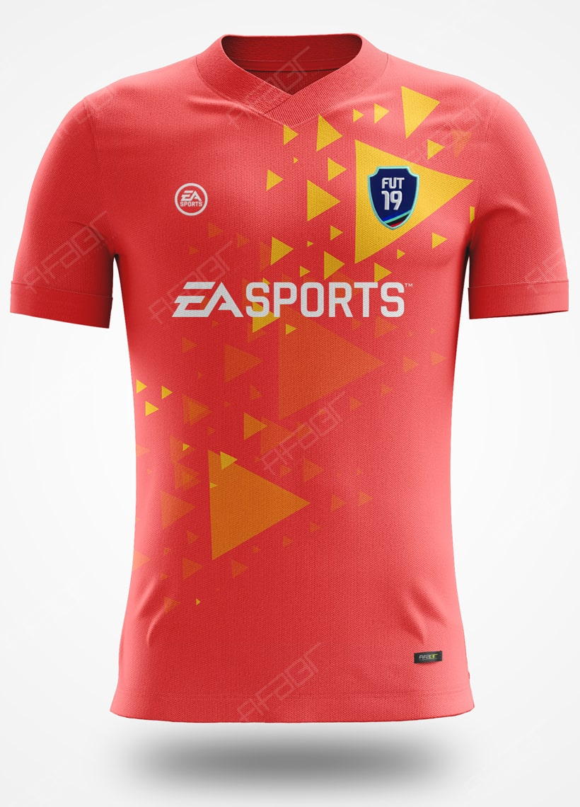 Camisa Ultimate Team Arrows Edition Laranja e Amarela