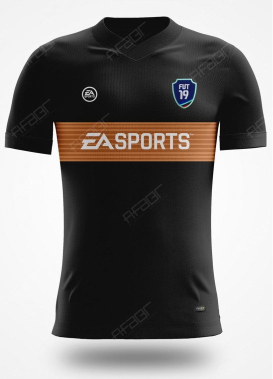 Camisa Fut Champions Bronze Edition Preta e Bege