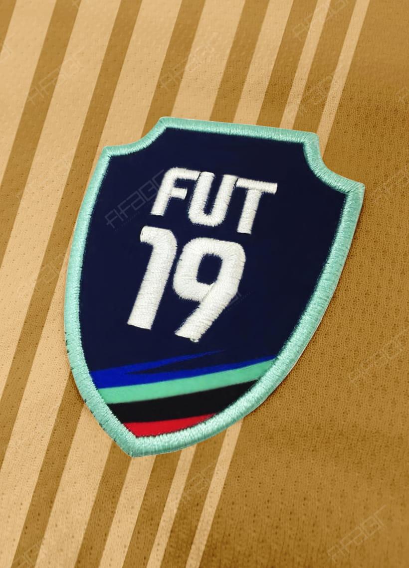 Camisa Fut Champions Gold Edition Bege