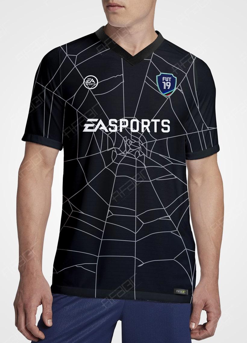 Camisa Ultimate Team Ultimate Scream Edition Preta