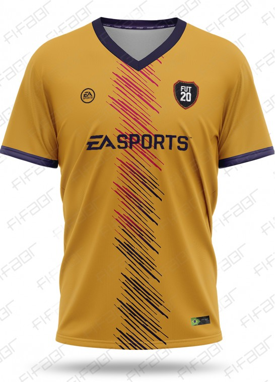 Camisa Fifa Ultimate Team TOTW Edition Laranja