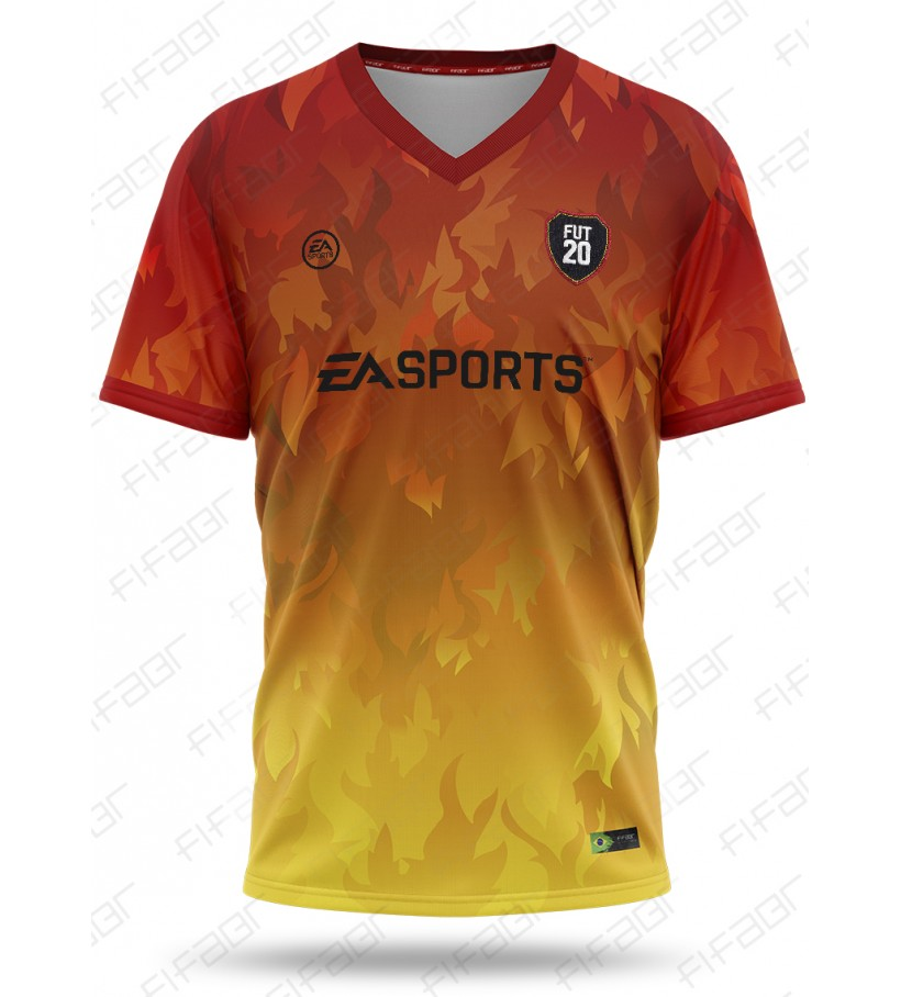 Camisa Ultimate Team Territories Edition Fire