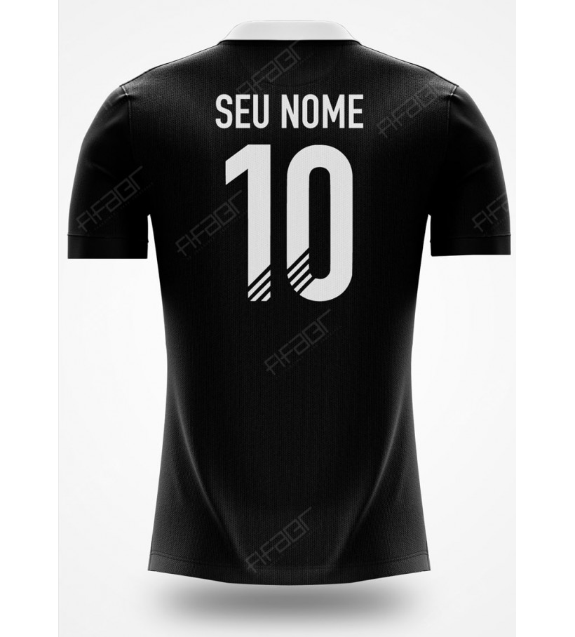 Camisa Ultimate Team TOTY Editon Preto e Branco