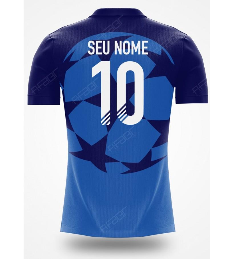 Camisa Ultimate Team Champions League Azul Escuro