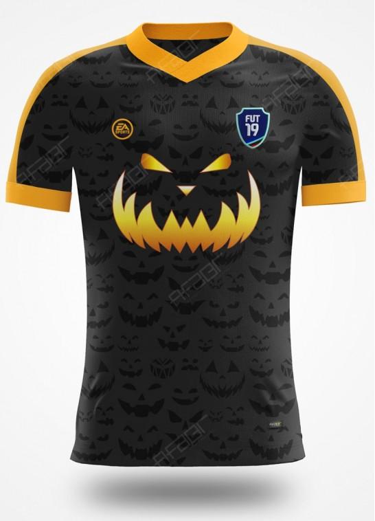 Camisa Ultimate Team Halloween Edition Preta e Laranja