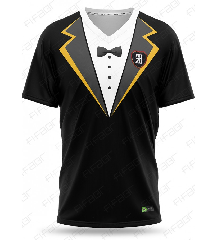 Camisa Ultimate Team TOTY Editon Preto e Branco