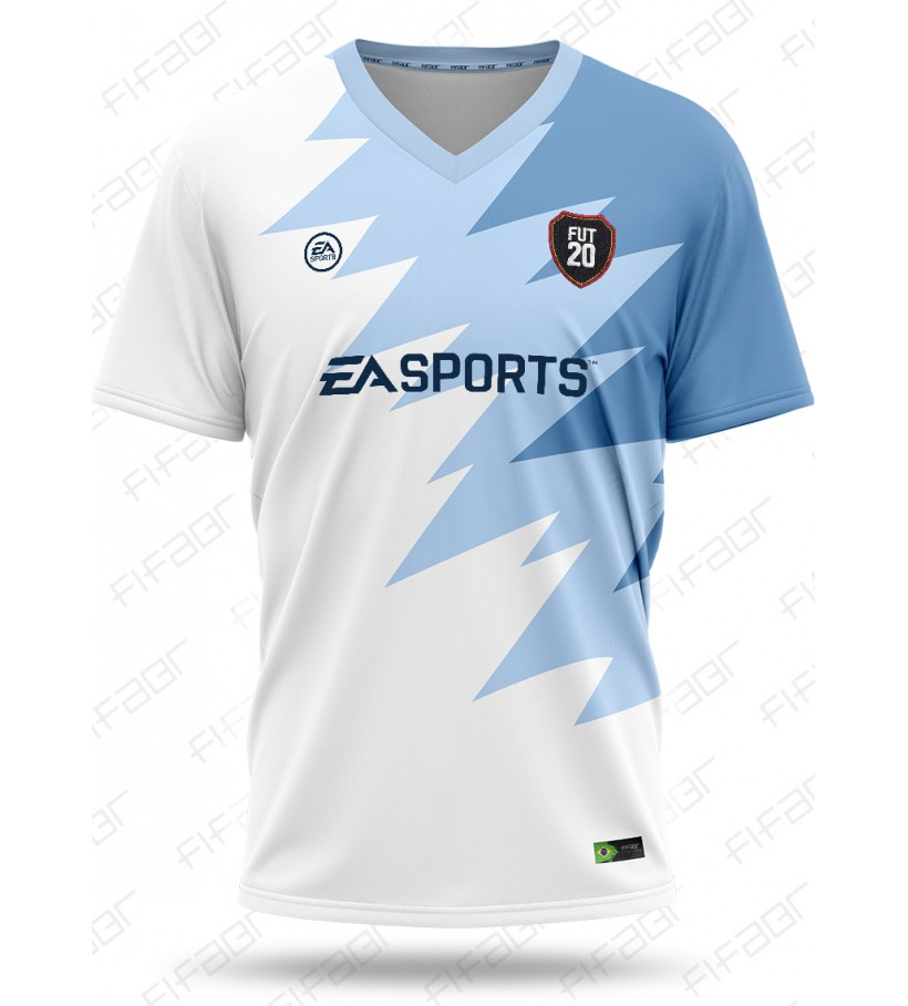 Camisa Ultimate Team Futties Edition Azul e Branco