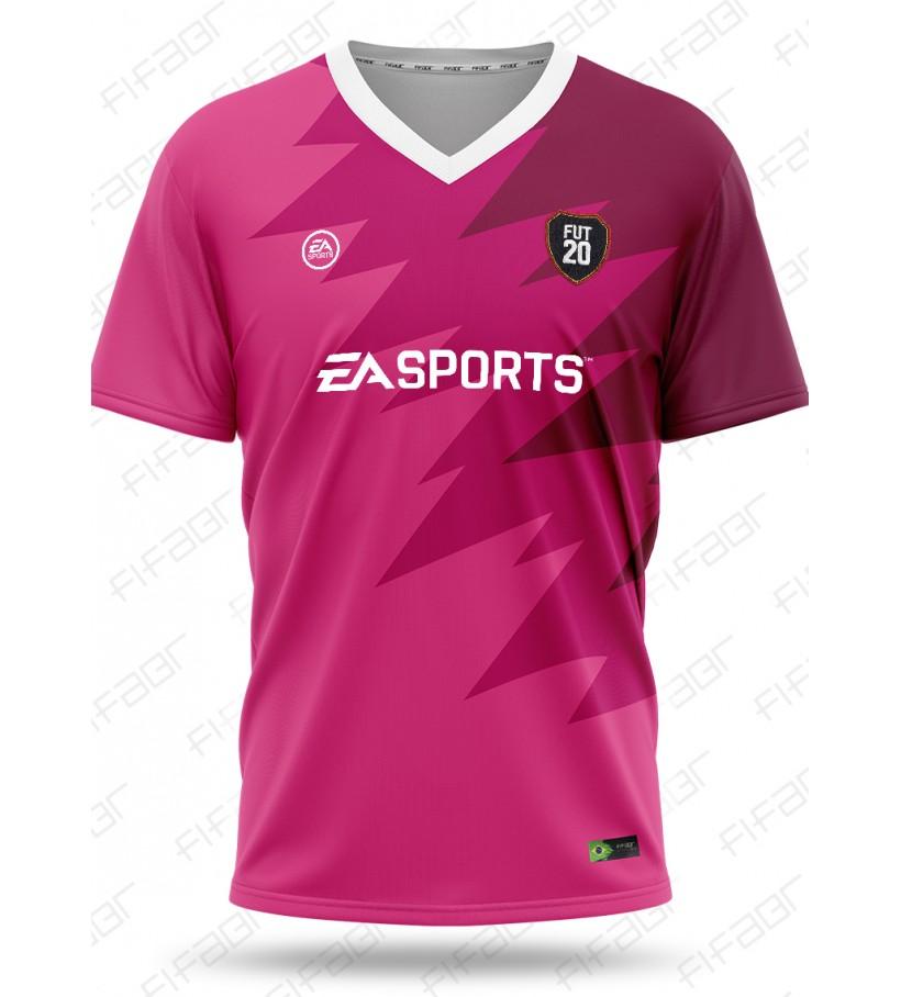 Camisa Ultimate Team Futties Edition Rosa e Bordo