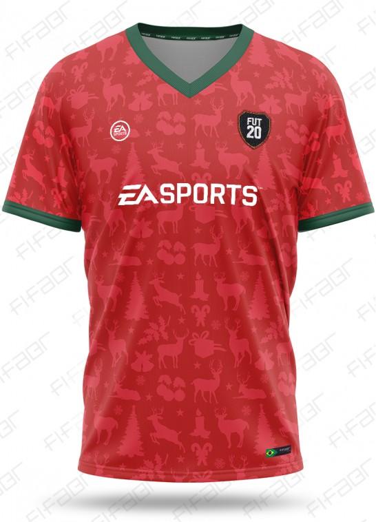 Camisa Fifa Ultimate Team FutMas Edition Vermelha
