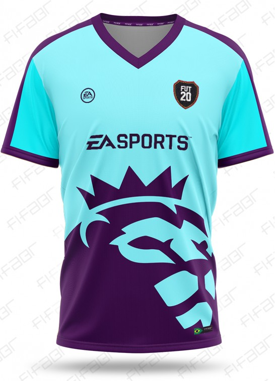 Camisa Fifa Ultimate Team Premier League Edition Azul Claro