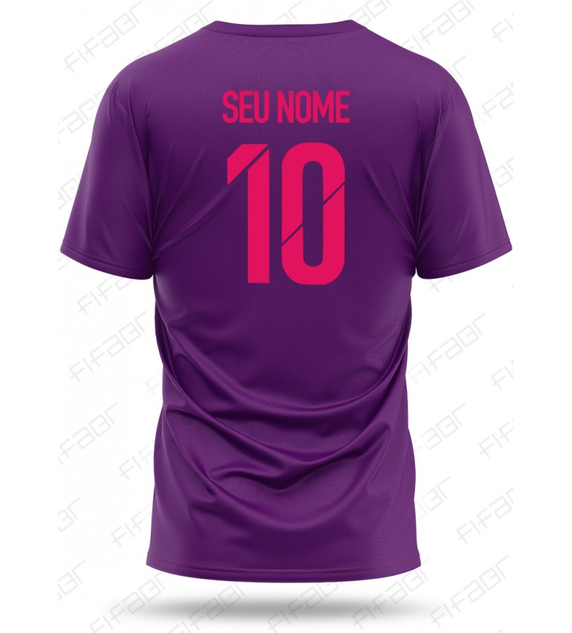 Camisa Ultimate Team Premier Edition Roxa e Rosa