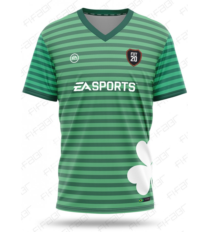 Camisa Ultimate Team St Patrick's Day Edition Verde Fut 19