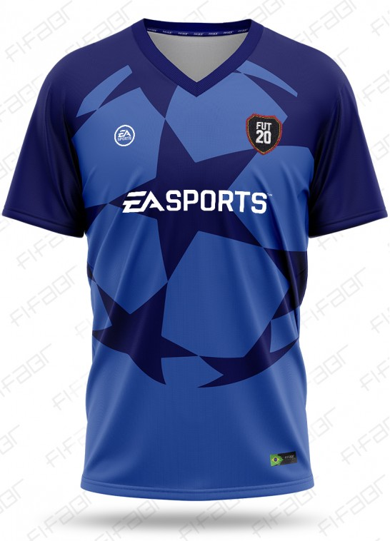 Camisa Ultimate Team Champions League Azul Escuro
