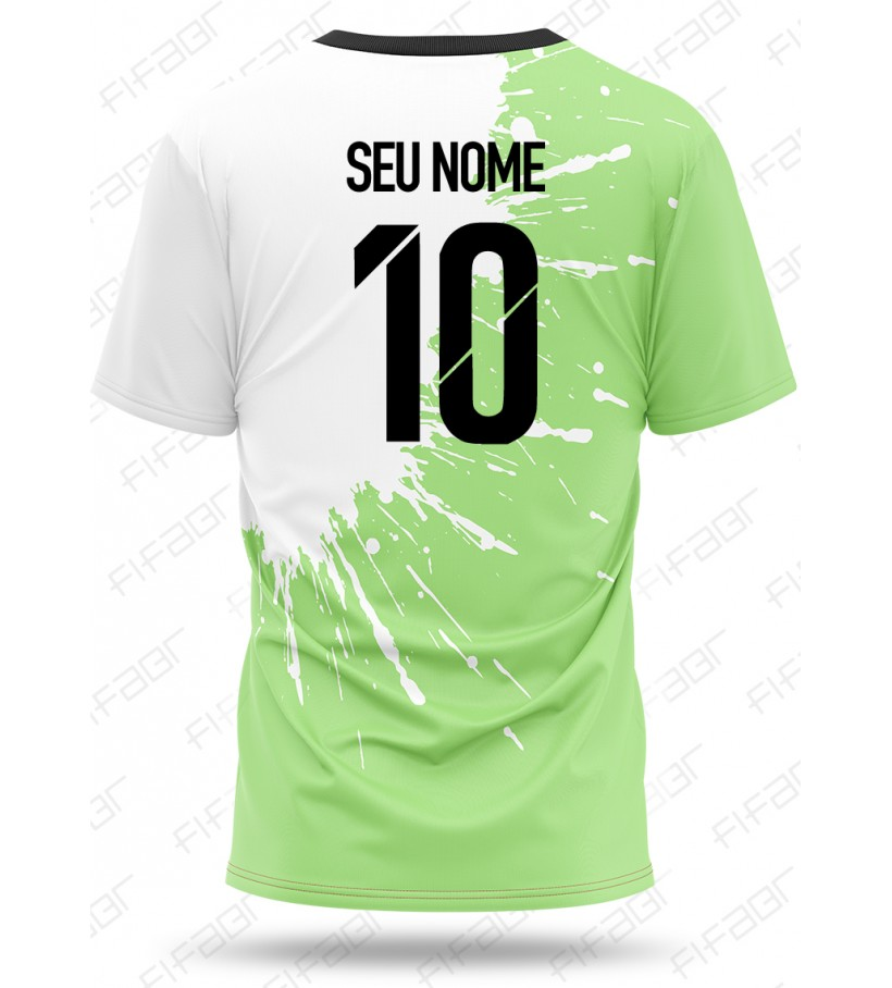 Camisa Ultimate Team Fut Other Edition Verde e Branca