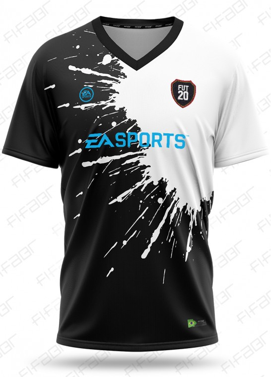 Camisa Ultimate Team Fut Other Edition Preta e Branca