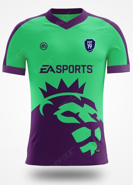 Camisa Fifa Ultimate Team Premier League Edition Verde