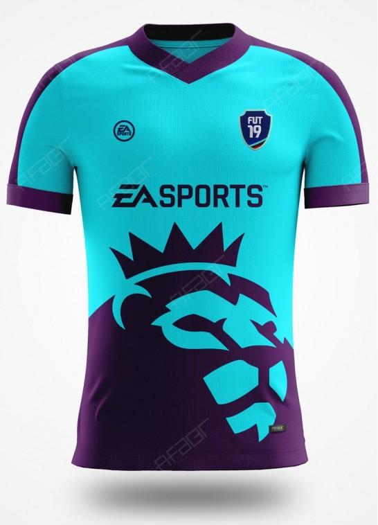 Camisa Fifa Ultimate Team Premier League Edition Azul Claro