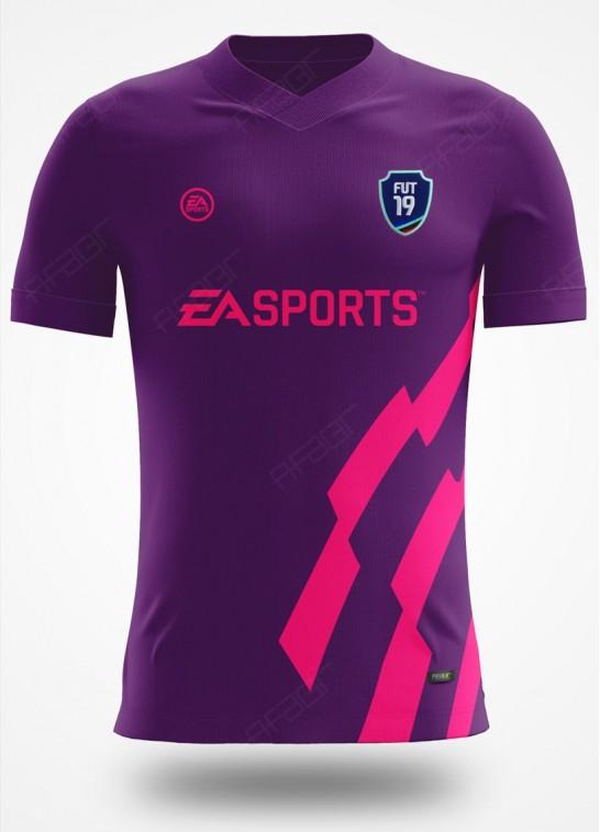 Camisa Ultimate Team Premier Edition Roxa e Rosa