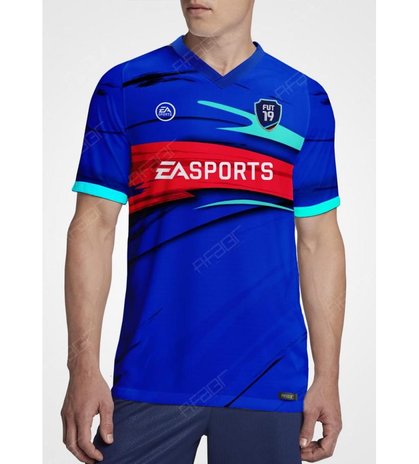 Camisa Ultimate Team TOTW Edition Azul e Vermelha