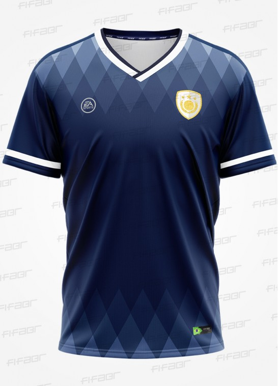 Camisa Ultimate Team Icon Edition Azul Fut 20