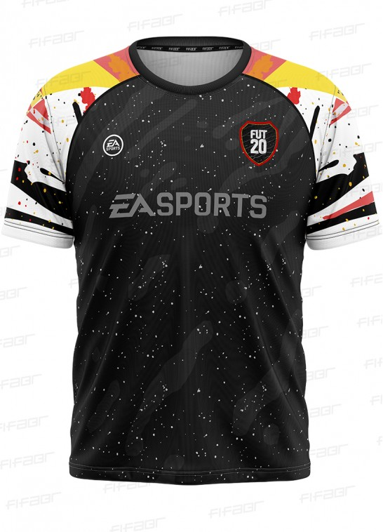 Camisa Fifa Ultimate Team Fut 20 TOTW Preta