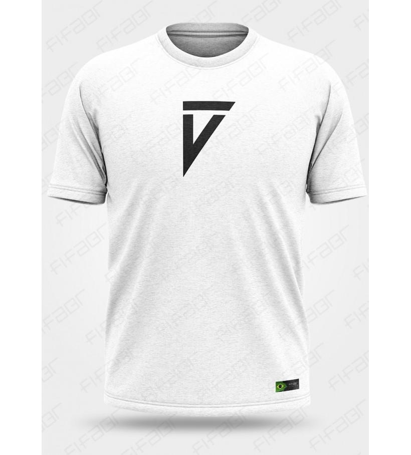 Camisa Casual Branca Volta Football - [Estoque limitado, Aproveite!]