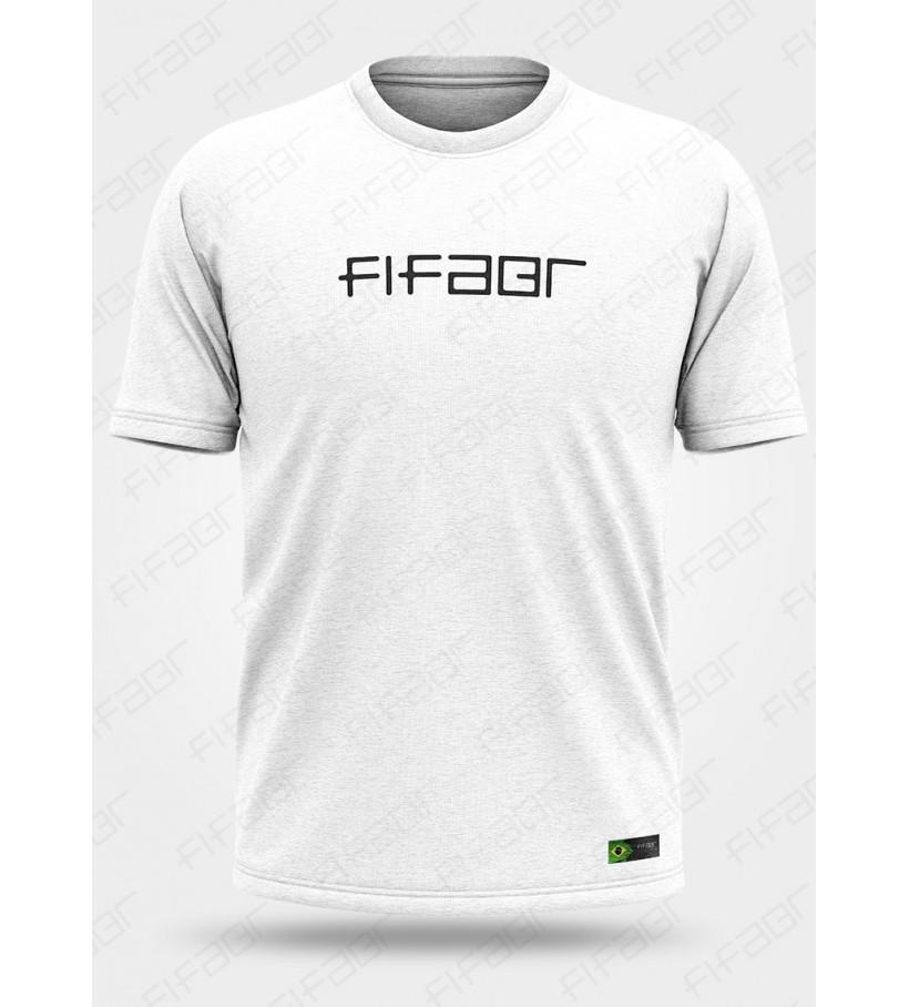 Camisa Casual Branca FIFABR - [Estoque limitado, Aproveite!]
