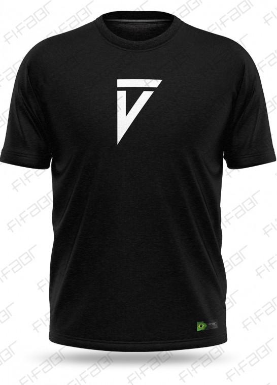Camisa Casual Preta Volta Football - [Estoque limitado, Aproveite!]