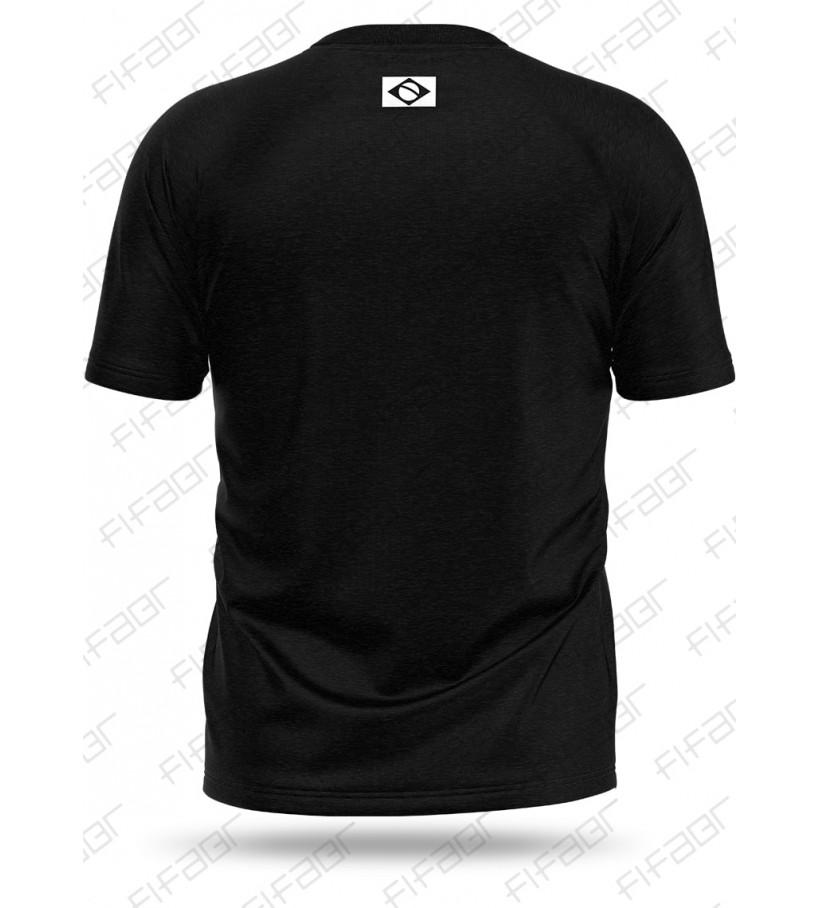 Camisa Casual Preta FIFABR - [Estoque limitado, Aproveite!]