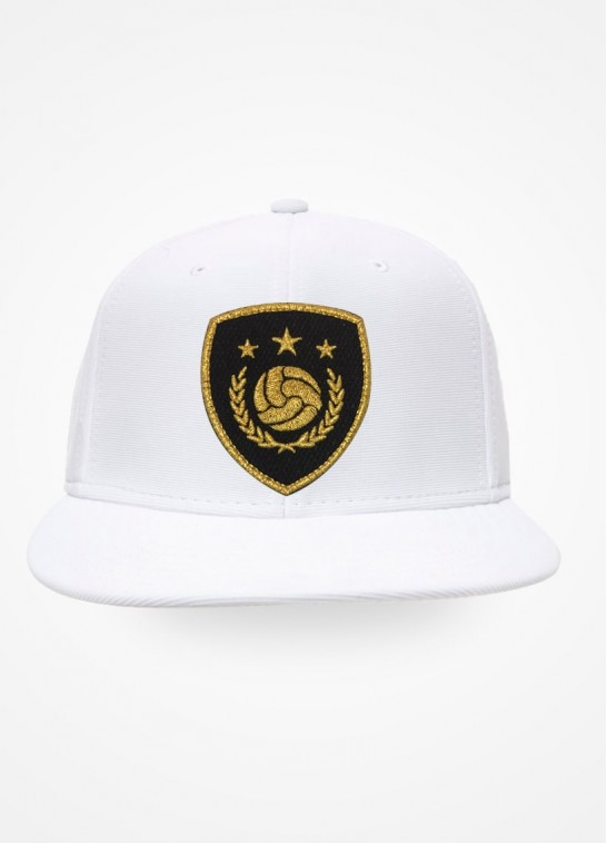 Boné Aba Reta Branco Fifa Ultimate Team Icon Black