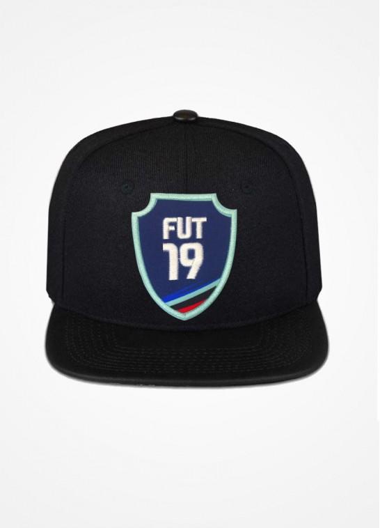 Boné Aba Reta Preto Fifa Ultimate Team Fut 19