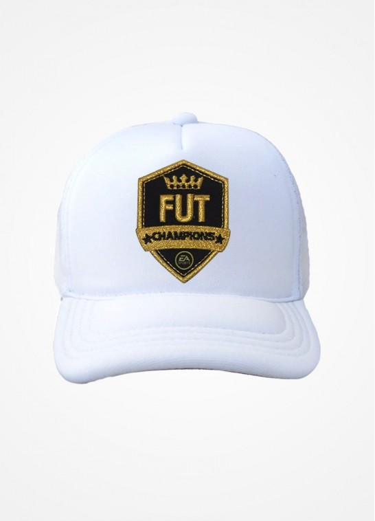 Boné Trucker Branco Fifa Ultimate Team Fut Champions
