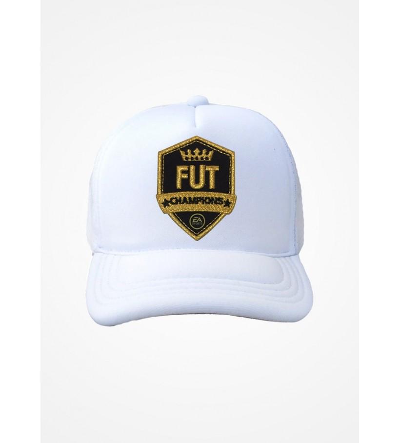 Boné Trucker Branco Fifa Ultimate Team Fut Champions