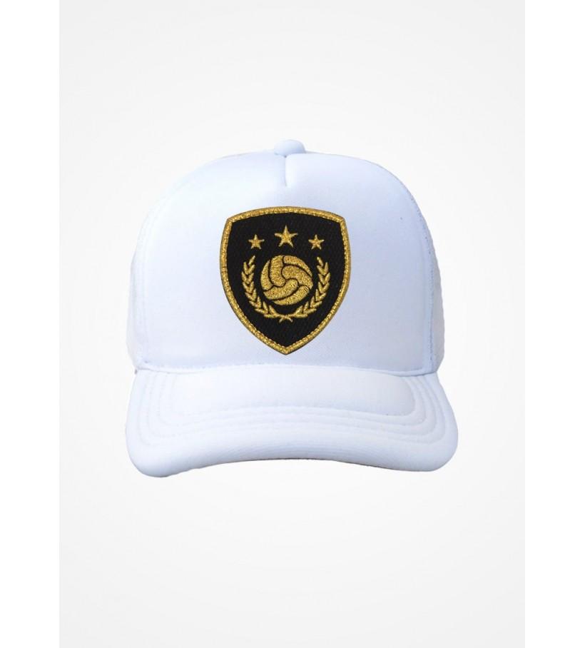 Boné Trucker Branco Fifa Ultimate Team Icon Black