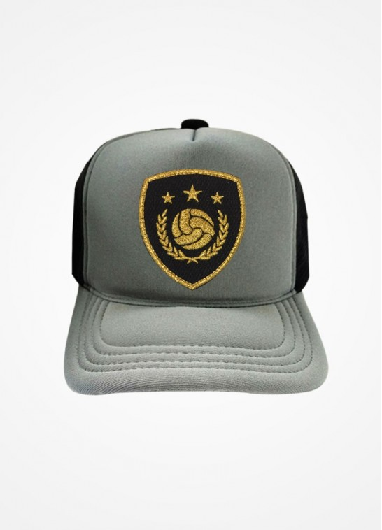 Boné Trucker Cinza e Preto Fifa Ultimate Team Icon Black