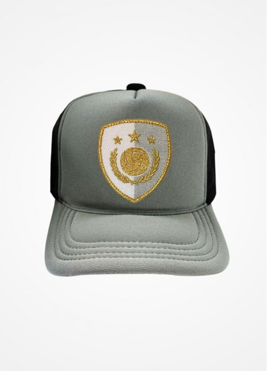 Boné Trucker Cinza e Preto Fifa Ultimate Team Icon White