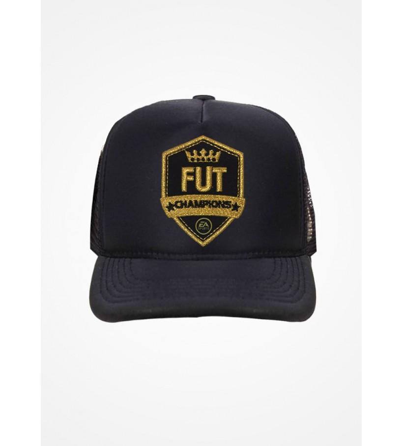 Boné Trucker Preto Fifa Ultimate Team Fut Champions