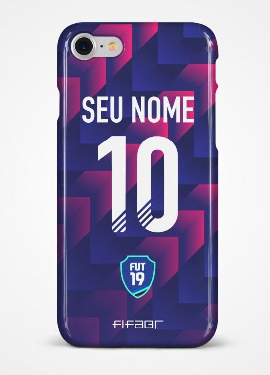 Capinha Ultimate Team Dev Azul Marinho e Rosa - Com Personalização - Selecione o Modelo