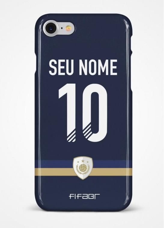 Capinha Ultimate Team Icon Edition Azul Marinho - Com Personalização - Selecione o Modelo
