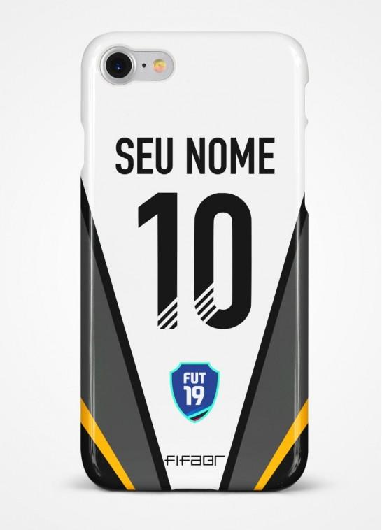 Capinha Ultimate Team TOTY Preto e Branco - Com Personalização - Selecione o Modelo