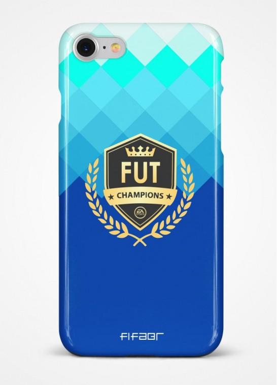 Capinha Fut Champions Azul Degradê - Clique e Selecione seu Modelo